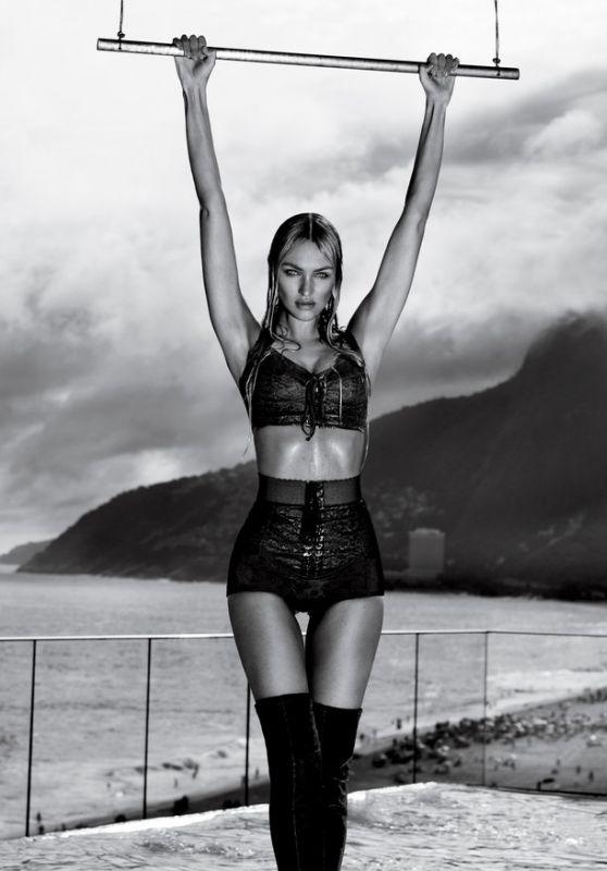 Candice Swanepoel - Photoshoot for Vogue Brazil November 2017