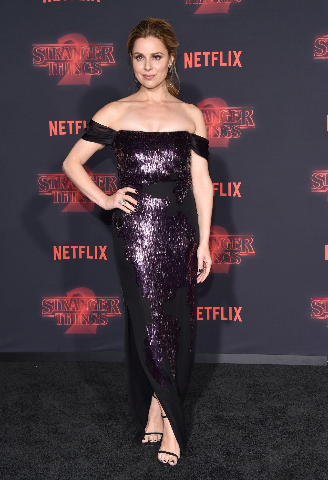 "Cara Buono – ""Stranger Things"" Season 2 Premiere in LA"
