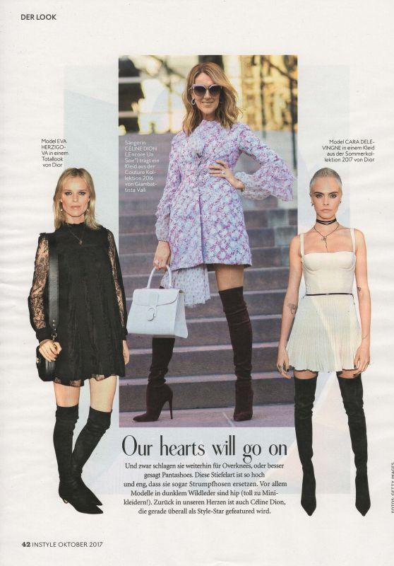 Cara Delevigne - InStyle Magazine Germany October 2017 Issue