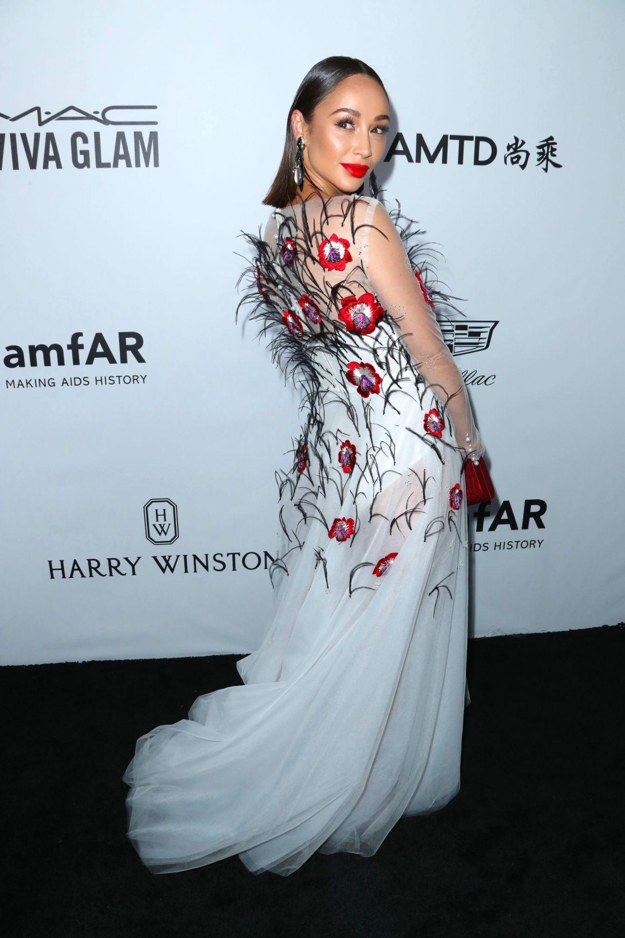 Cara Santana – amfAR Gala 2017 in Los Angeles