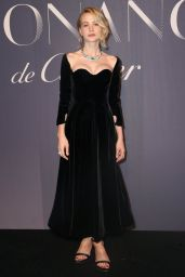 "Carey Mulligan - ""Resonances de Cartier"" Jewelry Collection Launch in NY"