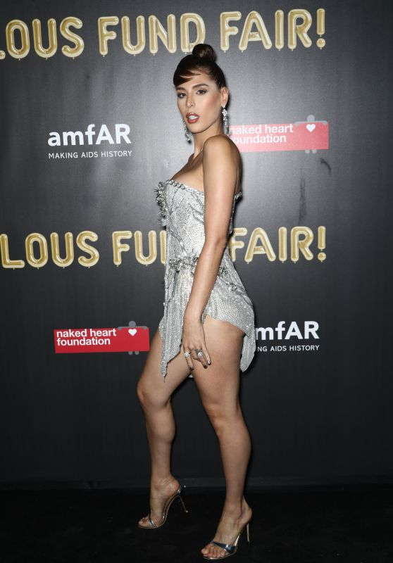 Carmen Carrera – 2017 amfAR Fabulous Fund Fair in NYC