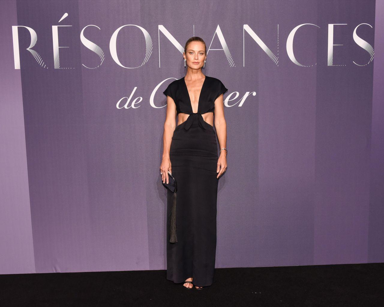 "Caroline Murphy – ""Resonances de Cartier"" Jewelry Collection Launch in NY"
