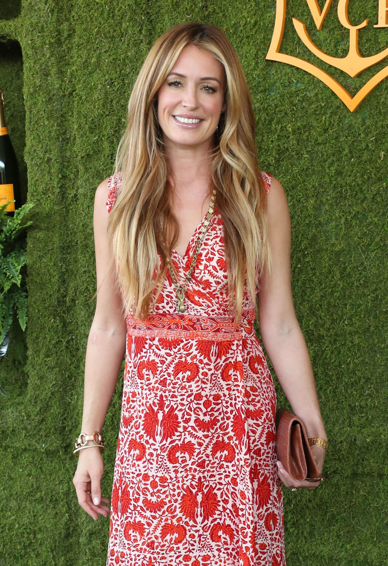 Cat Deeley – Veuve Cliquot Polo Classic 2017 in Los Angeles