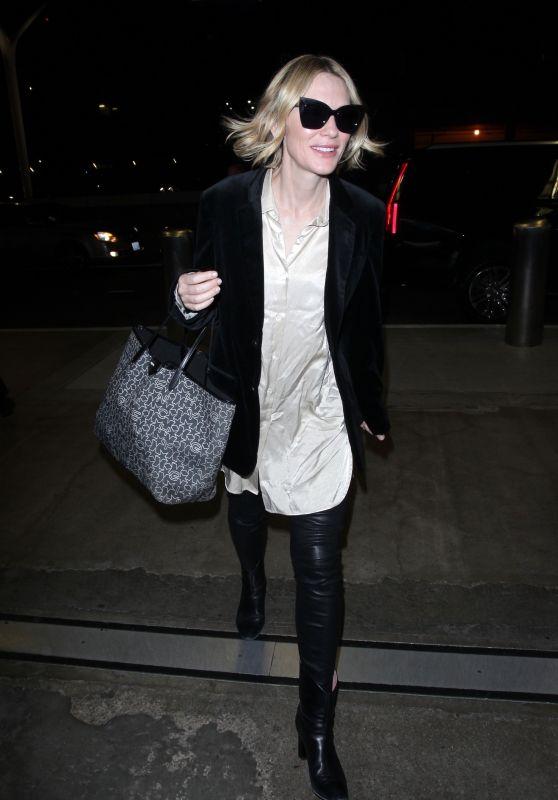 Cate Blanchett at LAX Airport 10/11/2017