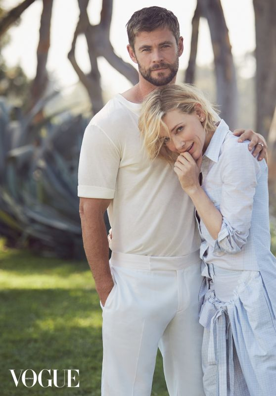 Cate Blanchett & Chris Hemsworth - Vogue Australia November 2017 Cover and Photos
