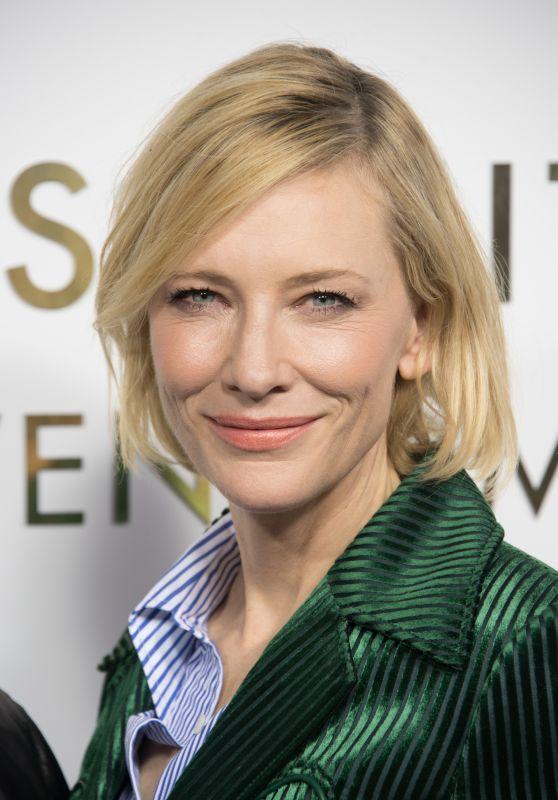 Cate Blanchett – Louis Vuitton's Boutique Opening in Paris 10/02/2017