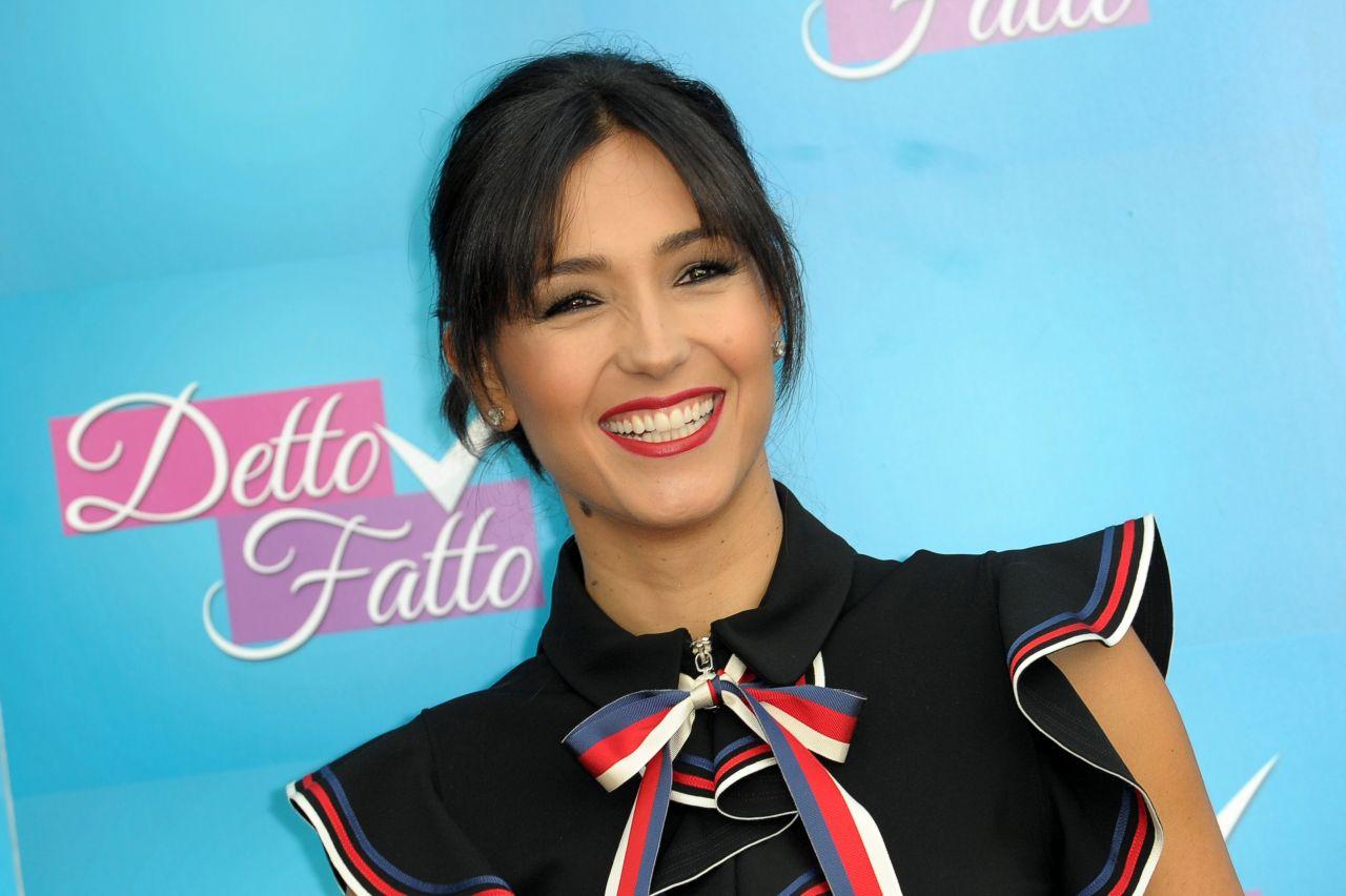 """Caterina Balivo - """"Detto, Fatto"""" TV Show Photocall in ..."""