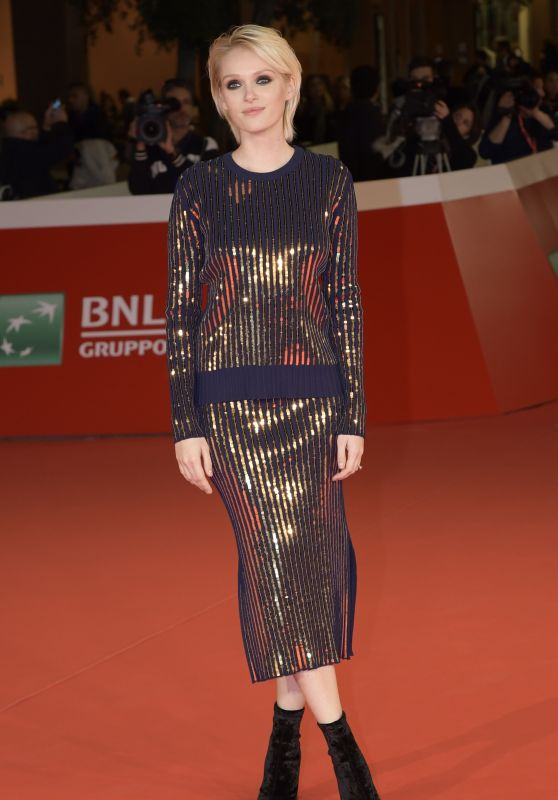 Caterina Shulha – Rome Film Festival Pre-Opening Red Carpet 10/25/2017