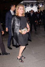 Catherine Deneuve – Louis Vuitton Boutique Opening in Paris 10/02/2017
