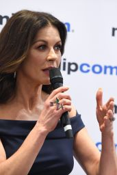 """Catherine Zeta-Jones - """"Cocaine Godmother"""" Press Conference at MIPCOM 2017 in Cannes"""