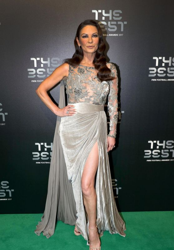 Catherine Zeta-Jones - The Best FIFA Football Awards 2017 in London