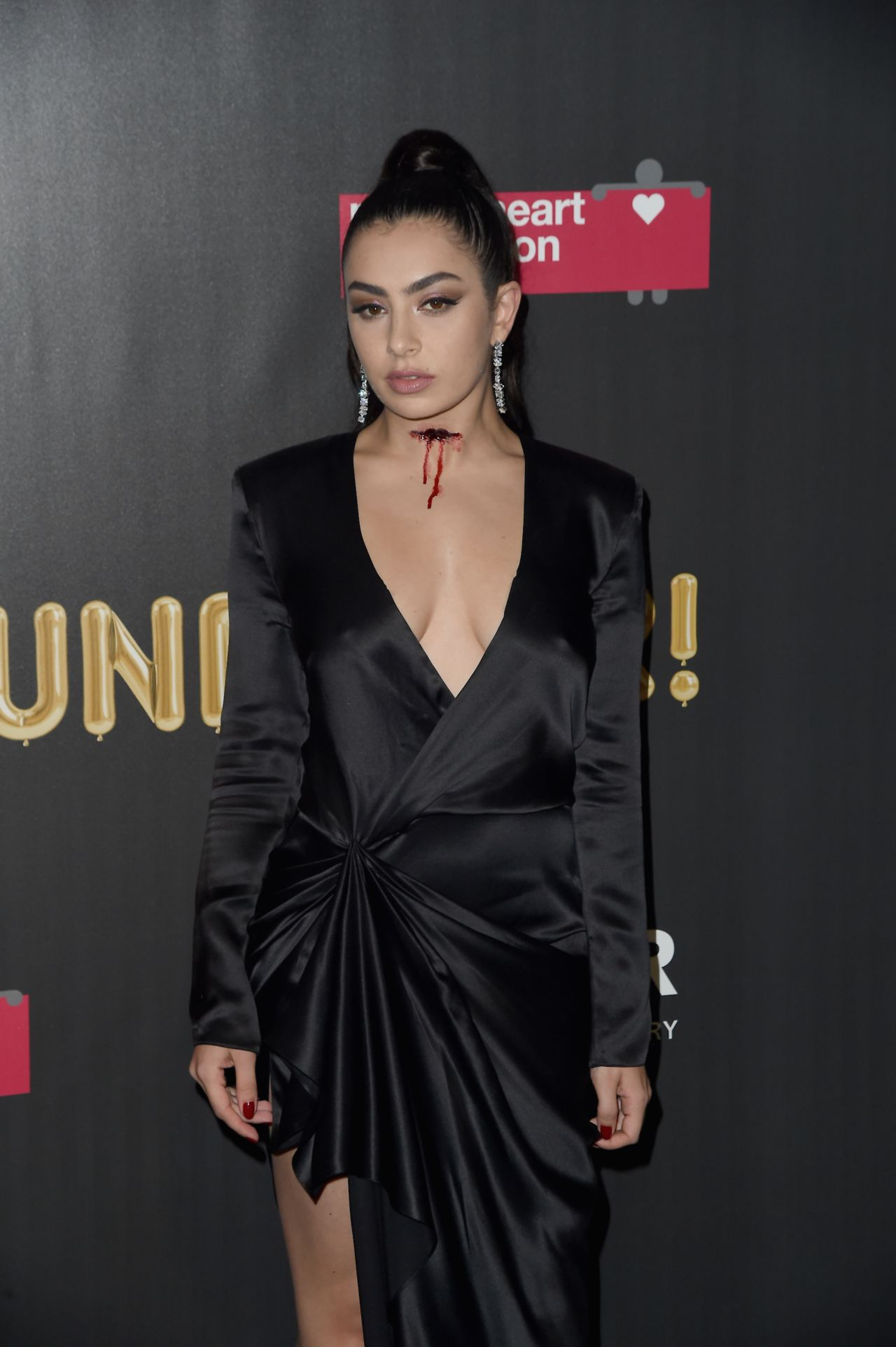 Charli XCX - 2017 amfAR Fabulous Fund Fair in NYC