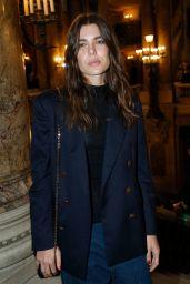 Charlotte Casiraghi – Stella McCartney Fashion Show, PFW in Paris 10/02/2017