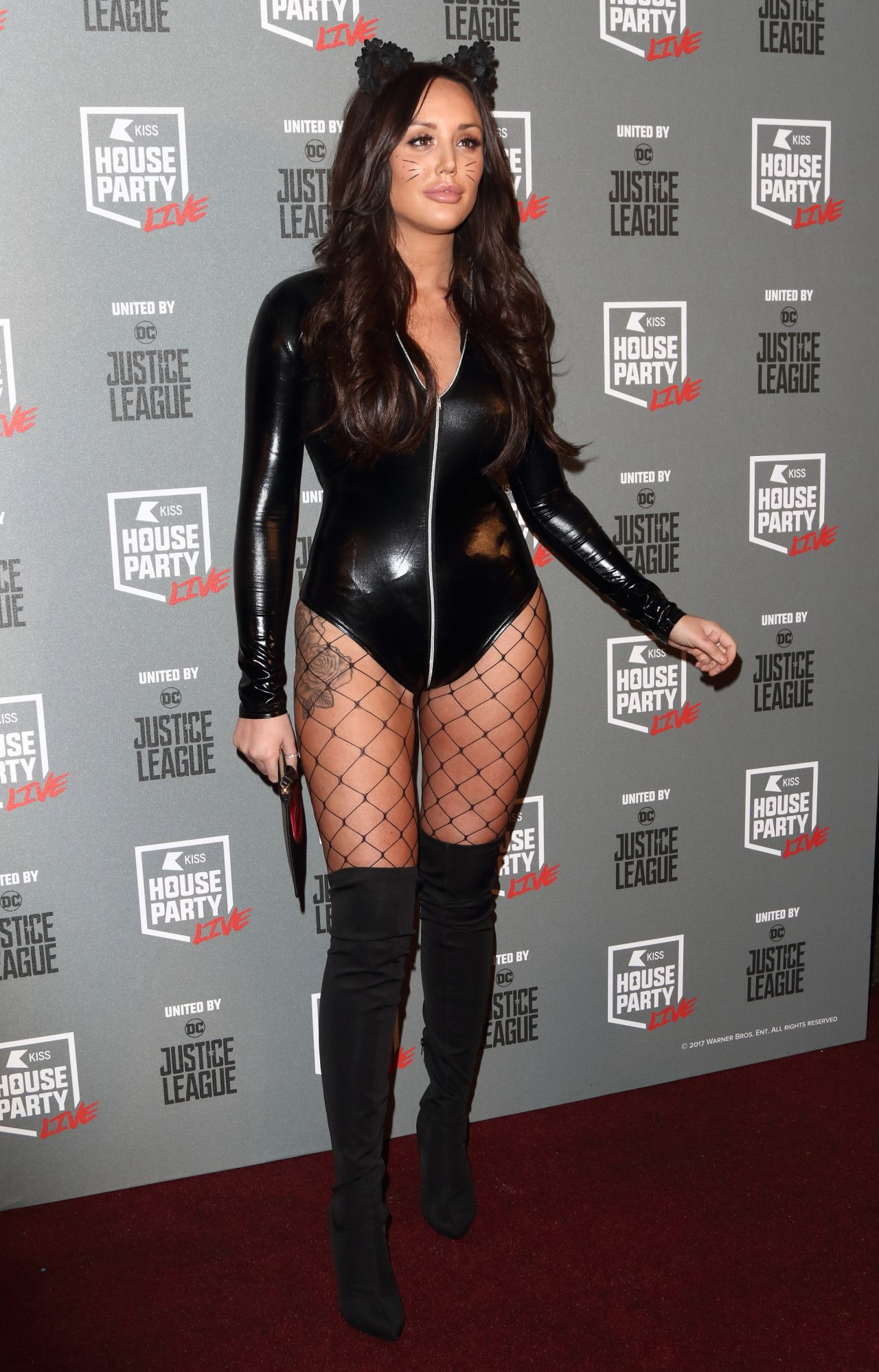 Charlotte Crosby - KISS FM Haunted House Party in London 10