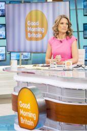Charlotte Hawkins - Good Morning Britain TV Show in London 10/24/2017