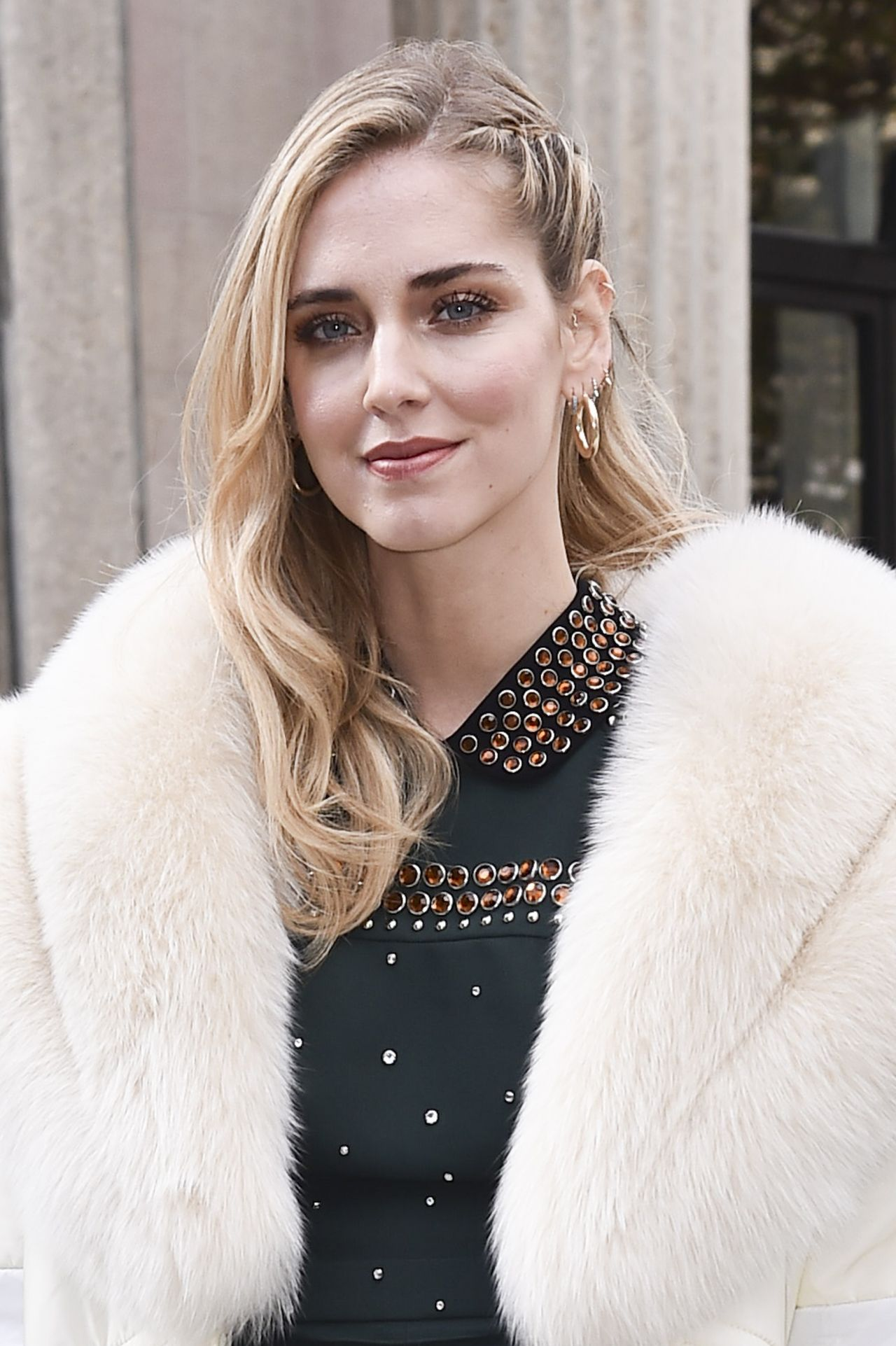 Chiara Ferragni – Miu Miu Fashion Show in Paris 10/03/2017