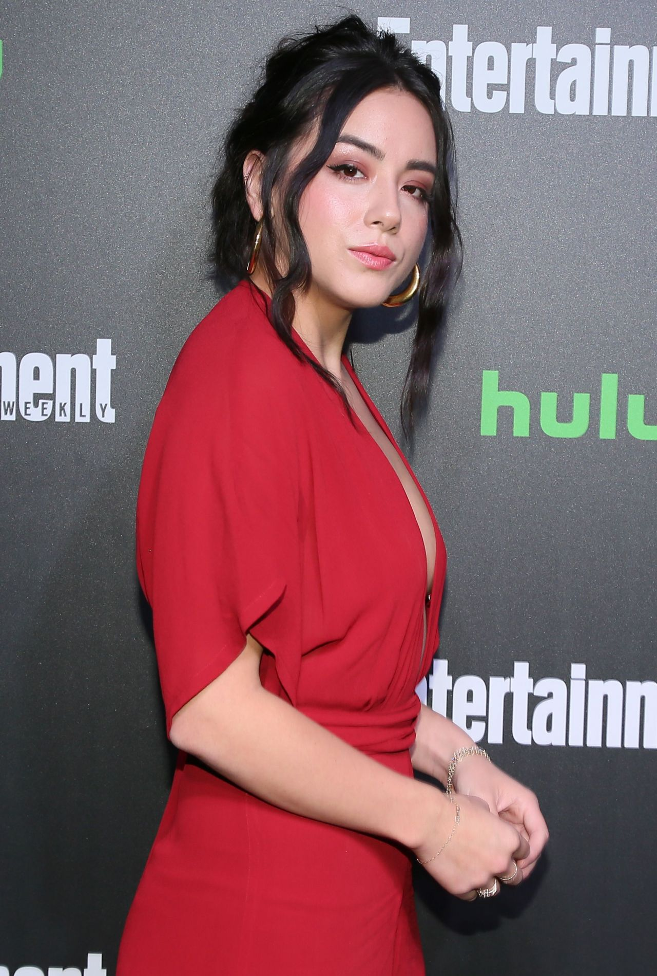 Chloe Bennet – Hulu and EW New York Comic Con After Party ...  Chloe Bennet �...