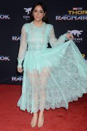 "Chloe Bennet - ""Thor: Ragnarok"" Premiere in Los Angeles 10/10/2017"