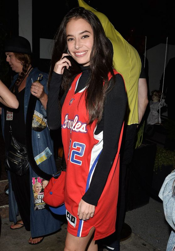 Chloe Bridges - Halloween Party at Poppy Night Club in Hollywood 10/28/2017