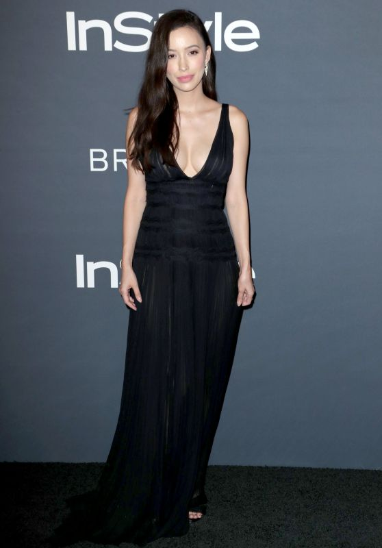 Christian Serratos – InStyle Awards 2017 in Los Angeles