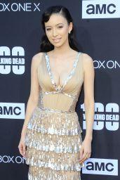 "Christian Serratos - ""The Walking Dead"" TV Show Premiere in Los Angeles"