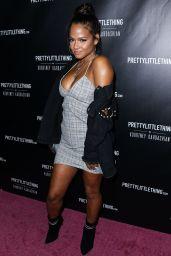 Christina Milian – PrettyLittleThing By Kourtney Kardashian Launch in West Hollywood