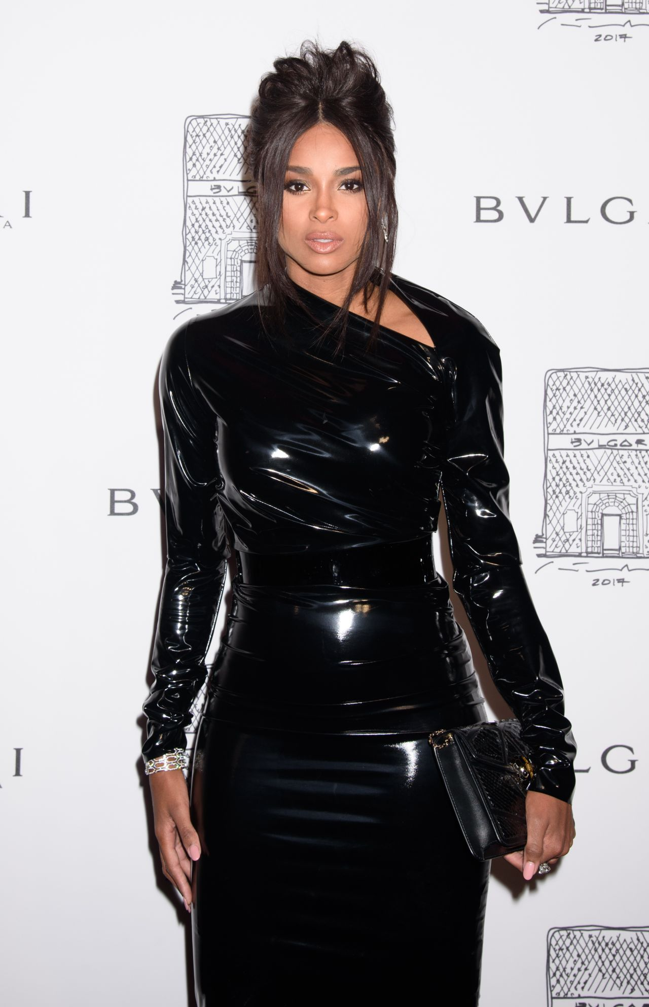 Ciara In Instyle Magazine April 2019 Issue: Bulgari Flagship Store Opening Celebration In New