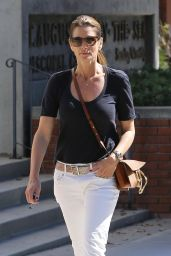 Cindy Crawford Cute Style - Out in Santa Monica 10/16/2017