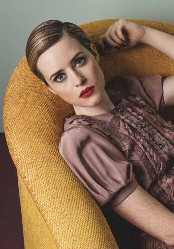 Claire Foy - Vogue UK November 2017