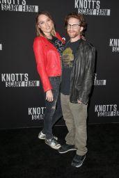 Clare Grant – Knott's Scary Farm Celebrity Night in Buena Park 09/29/2017