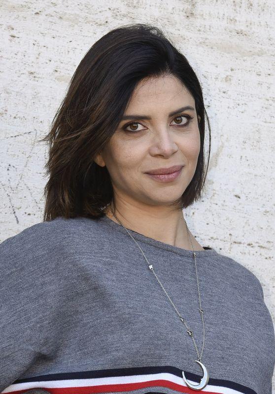 """Claudia Potenza – """"Non C'e' Scampo"""" Photocall in Rome 10/23/2017"""