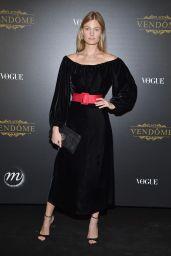 Constance Jablonski – Vogue Party at PFW in Paris 10/01/2017