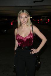"Corinne Olympios – ""Jigsaw"" Red Carpet in Los Angeles"
