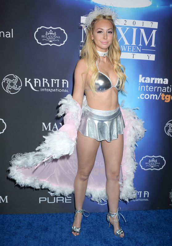 Corinne Olympios – Maxim Halloween Party 2017 in Los Angeles