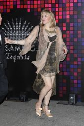 Courtney Love – Tequila Casamigos Halloween Bash 2017 in Los Angeles
