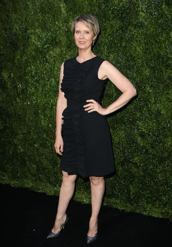 Cynthia Nixon – The Tribeca Chanel Women's Filmmaker Program Luncheon in NYC