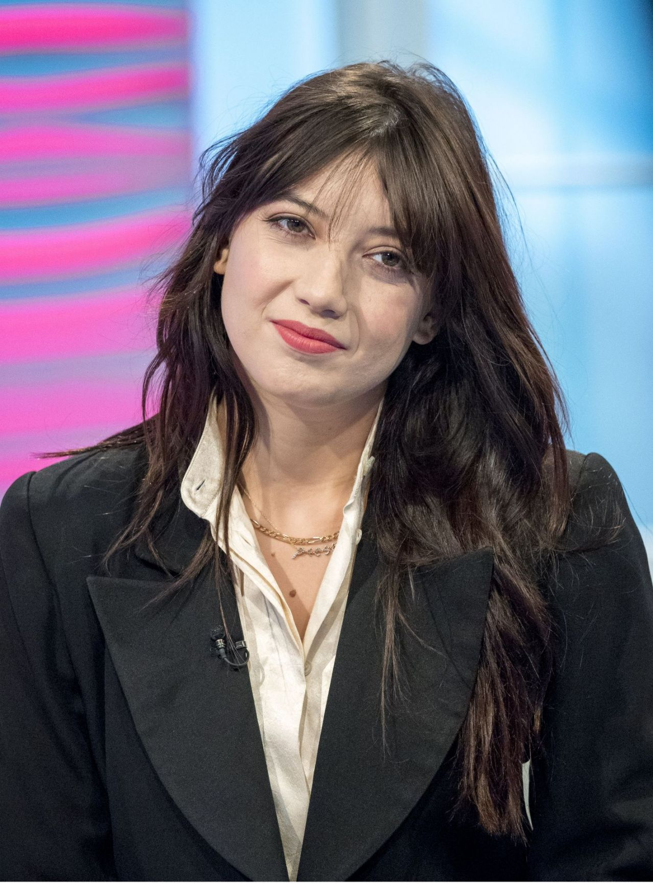 Daisy Lowe Appeared On Lorraine Tv Show In London 10 11 2017