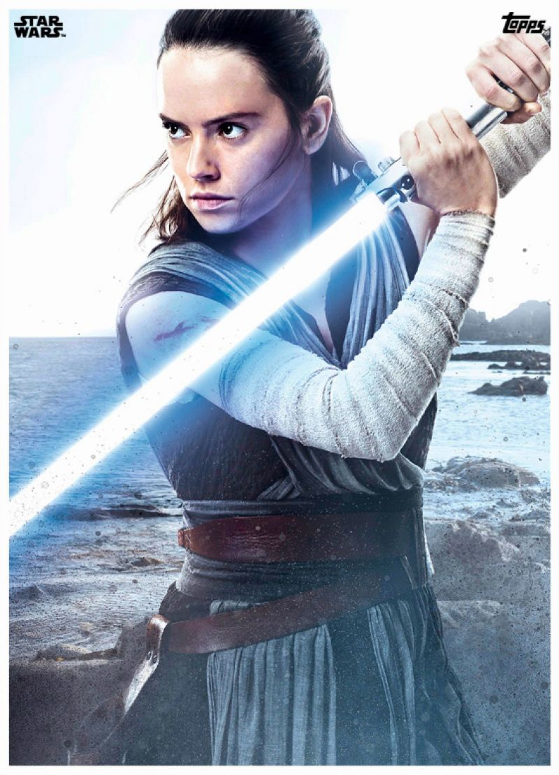 Daisy Ridley - Star Wars: Episode VIII The Last Jedi (2017) Posters and Trailer
