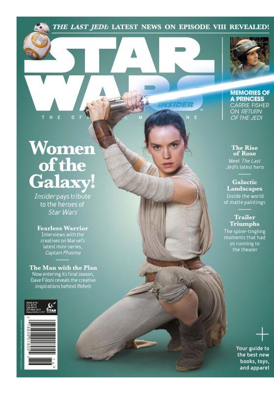 Daisy Ridley - Star Wars Insider October/November 2017 Issue