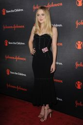 Dakota Fanning – Save The Children Illumination Gala in NYC