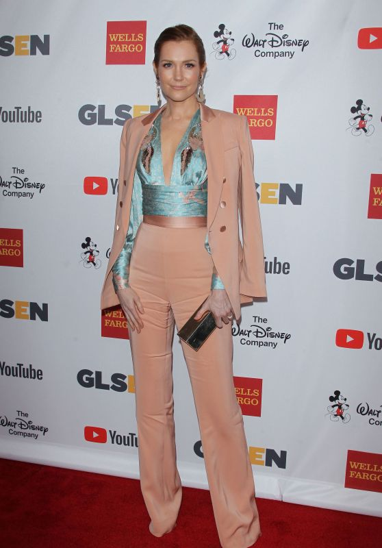 Darby Stanchfield – GLSEN Respect Awards 2017 in Los Angeles