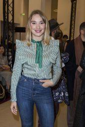 Deborah Francois – Alexis Mabille Fashion Show in Paris 09/29/2017