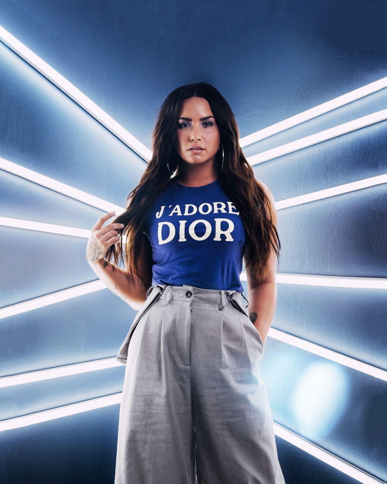 Demi Lovato - Photoshoot for BuzzFeed 2017