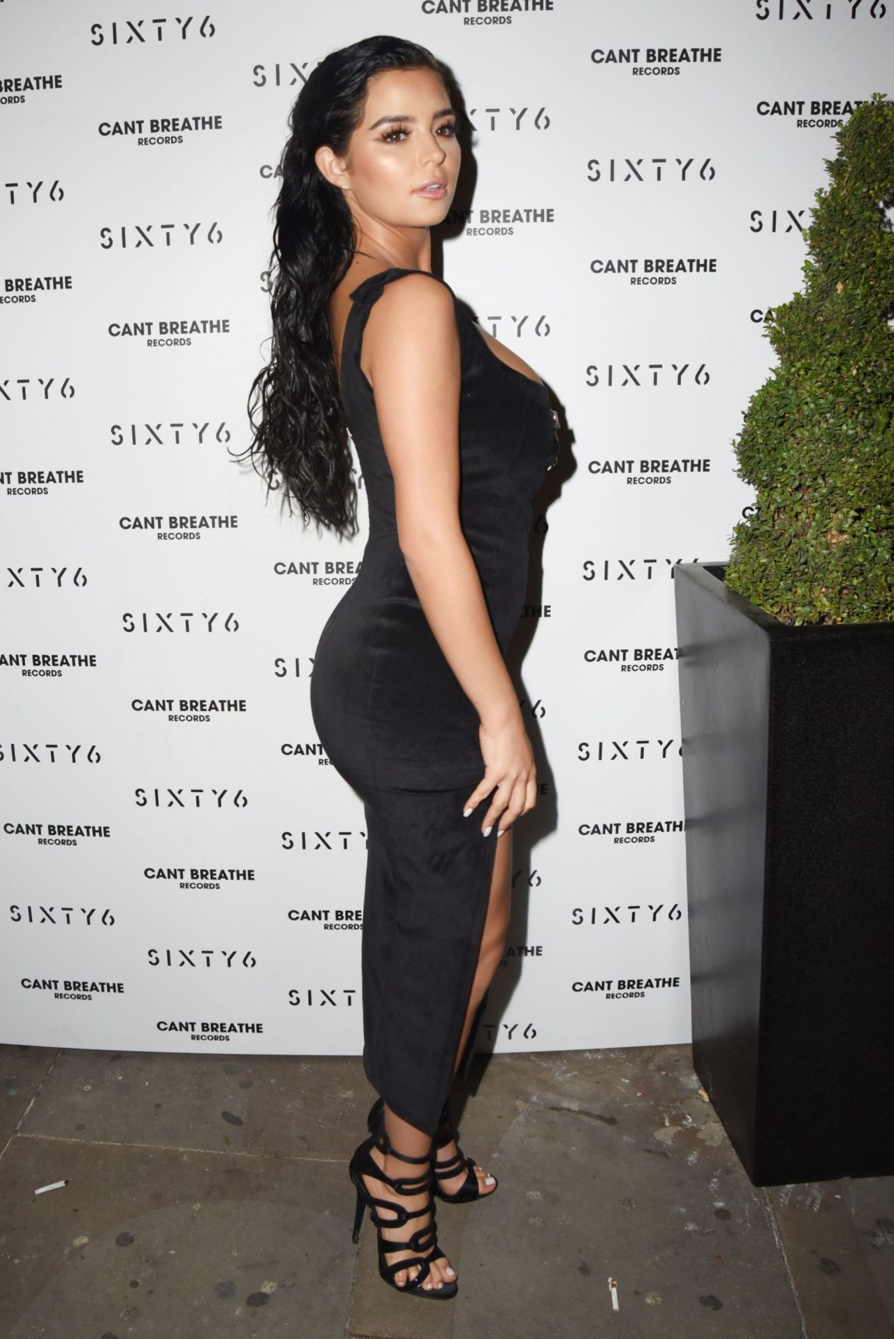 Demi Rose – SIXTY6 Magazine Launch Party in London