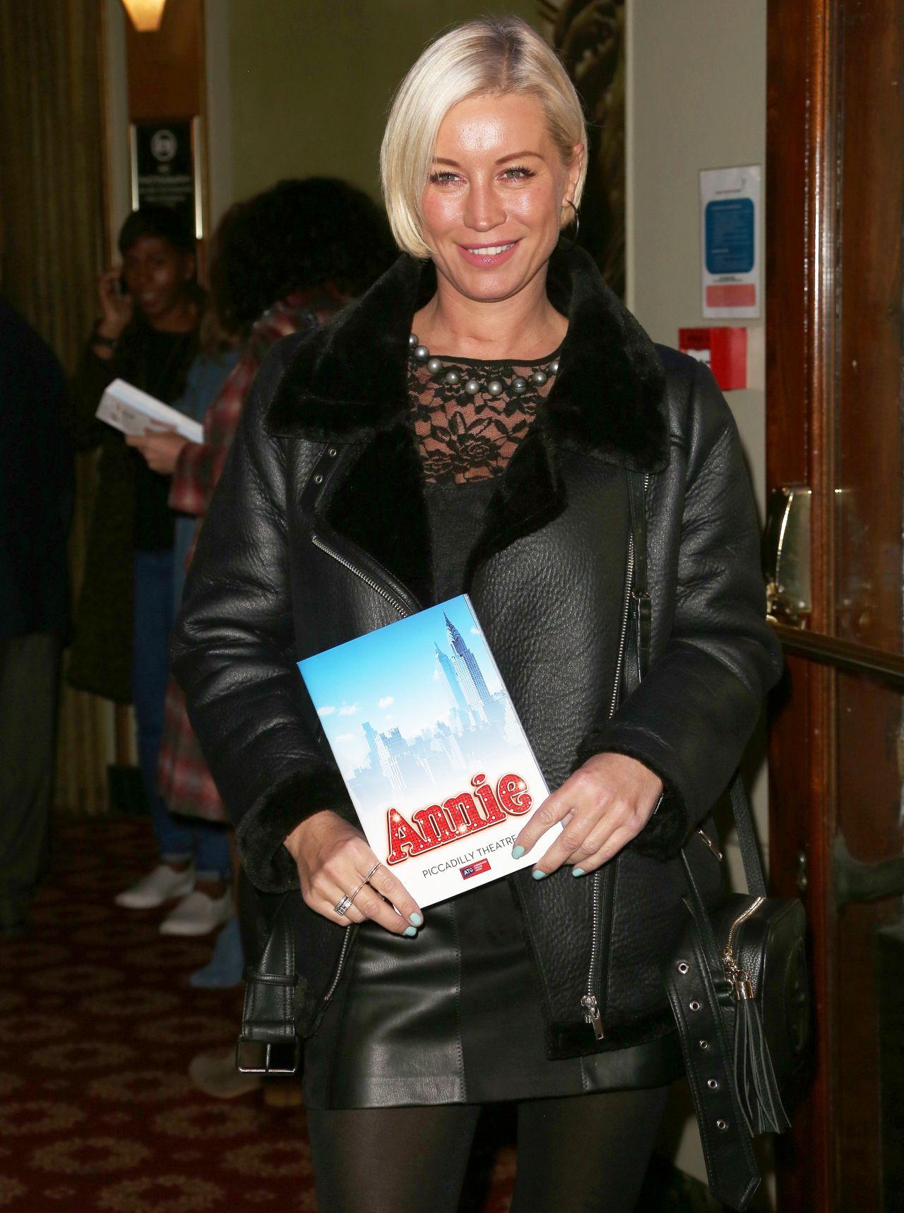 Denise Van Outen  Annie Press Night In London 10022017-1653