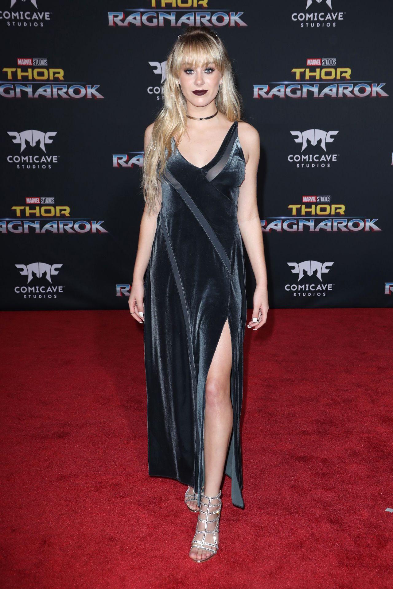 "DeVore Ledridge – ""Thor: Ragnarok"" Premiere in Los Angeles 10/10/2017"