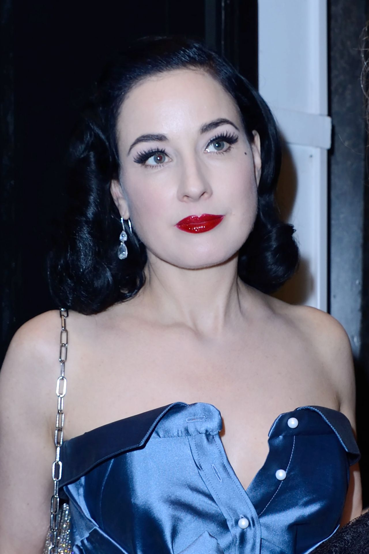 6d3f44bb6e6b Dita Von Teese – Alexis Mabille Fashion Show in Paris 09 29 2017