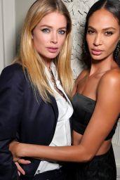 Doutzen Kroes and Joan Smalls – Maria Carla Boscono Party, PFW in Paris 09/29/2017
