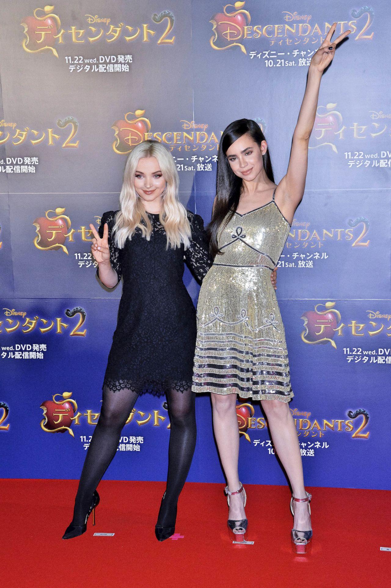 """Dove Cameron and Sofia Carson – """"Descendants 2"""" Fan Event in Tokyo"""